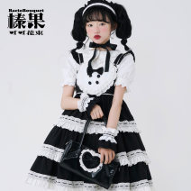 Lolita / soft girl / dress Baciobouquet / Corylus cocoa bouquet Black black (to be shipped), black and white (to be shipped), black powder (to be shipped), blue white (to be shipped), pink white (to be shipped), red white (to be shipped), white white (to be shipped) L,M,S