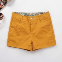 Casual pants Summer 2021 shorts Straight pants commute routine 25-29 years old 96% and above A195 Ocnltiy cotton Korean version Three dimensional cutting cotton