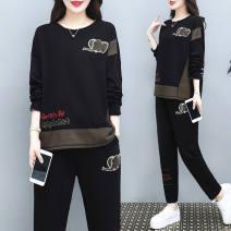 Fashion suit Spring 2020 M,L,XL,XXL,XXXL,4XL black 91% (inclusive) - 95% (inclusive)
