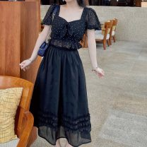 skirt Summer 2021 XXS,XS,S Black, black pre-sale
