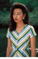 Dress Summer 2020 Green gradient S,M,L Mid length dress singleton  Short sleeve commute V-neck High waist stripe Single breasted A-line skirt Others Retro