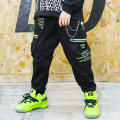 trousers Other / other male Orange, green spring and autumn trousers Hip hop There are models in the real shooting Leggings Leather belt middle-waisted cotton Don't open the crotch Six, seven, eight, nine, ten, eleven, twelve, thirteen, fourteen