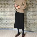 skirt Autumn of 2019 XS,S,M,L,XL,2XL,3XL,4XL Spring and autumn Roman cotton , Winter Roman cotton Mid length dress Versatile High waist High waist skirt Solid color Type H 25-29 years old GX9337G More than 95% Other / other polyester fiber