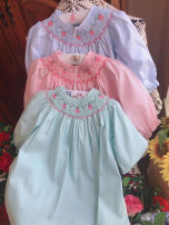 Dress Blue, green, pink female Other / other 90 for 1-2 years old, 100 for 2-3 years old, 110 for 3-4 years old, 120 for 4 years old, 130 for 4-5 years old Cotton 100% 12 months, 18 months, 2 years old, 3 years old, 4 years old, 5 years old, 6 years old
