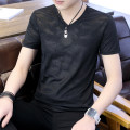 T-shirt Youth fashion Spider, black, white, black, white, camouflage routine M,L,XL,2XL,3XL,4XL Others Short sleeve Crew neck Self cultivation daily summer G23758 Cotton 95% polyurethane elastic fiber (spandex) 5% youth routine Youthful vigor Cotton wool 2021 Solid color other cotton Animal design