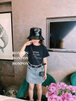 suit Other / other Black T-shirt in stock, half skirt, white T-shirt in stock 90cm,100cm,110cm,120cm,130cm,140cm,150cm,XS,S,M,L summer Britain Short sleeve + skirt 2 pieces routine nothing cotton 2, 3, 4, 5, 6, 7, 8, 9, 10, 11, 12, 13, 14 years old
