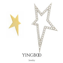 Earrings Silver ornaments 101-200 yuan yingboo Picture color 925 Silver