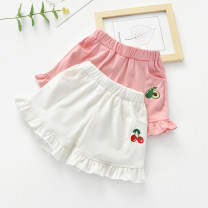 trousers Other / other female 80, 90, 100, 110, 120, 130 summer shorts Korean version No model Culotte Leather belt middle-waisted cotton Don't open the crotch Cotton 90% other 10% Class B To be updated 12 months, 9 months, 18 months, 2 years old, 3 years old, 4 years old, 5 years old, 6 years old