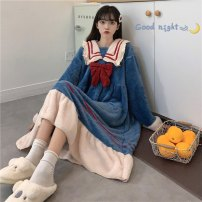 Pajamas / housewear set female Other / other One size fits all, XXS pre-sale Pajama suit, nightdress other Sweet Living clothes autumn routine youth 61% (inclusive) - 80% (inclusive) longuette