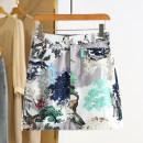 skirt Spring 2021 S,M,L,XL,2XL Decor Short skirt commute Natural waist Decor Type A RKR15Q006 More than 95% Other / other Korean version