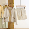 Fashion suit Spring 2021 S,M,L,XL Beige 25-35 years old Other / other ZCS15T007 30% and below wool