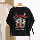 T-shirt Summer 2021 Regular payment commute cotton 96% and above Korean version Other / other RAM16S024 black S,M,L