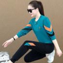 Sweater / sweater Winter 2020 Emerald Blue / 3839, black / 3839, dark grey / 3839, dark orange / 3839, dark orange / 3806, black / 3806, purplish red / 3806, dark grey / 3806 M,L,XL,2XL,3XL Long sleeves routine Socket Upper and lower sleeve routine Crew neck easy commute routine letter Other / other