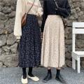 skirt Summer 2020 S [80-95 Jin], m [95-105 Jin], l [105-115 Jin], XL [115-130 Jin], 2XL [130-145 Jin], 3XL [145-160 Jin], 4XL [160-175 Jin], 5XL [175-200 Jin] Apricot, coffee, navy longuette commute High waist A-line skirt Solid color Type A 18-24 years old brocade Korean version