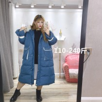 Cotton padded clothes Blue, beige XL,2XL,3XL,4XL,5XL Autumn 2020 Other / other