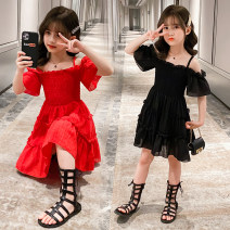 Dress A red drawstring off shoulder skirt, a black drawstring off shoulder skirt, black and white Long Sleeve Striped skirt female Other / other Other 100% summer lady Skirt / vest other cotton other Class B Three, four, five, six, seven, eight, nine, ten, eleven, twelve Chinese Mainland Huzhou City