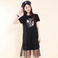 Dress Summer 2021 White, black M,L,XL,2XL Other / other Q19B333 More than 95% cotton