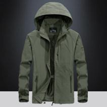 Jacket Fashion City Army 7868, khaki 7868, black 7868, dark blue 7868, 7868 with velvet army, 7868 with velvet khaki, 7868 with velvet black, 7868 with velvet dark blue M,L,XL,2XL,3XL,4XL,5XL,6XL routine easy motion Four seasons XC7868 Long sleeves Wear out Detachable cap Military brigade of tooling