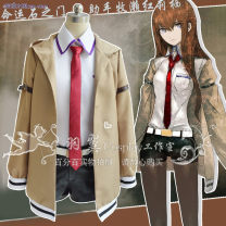 Cosplay women's wear suit goods in stock Over 8 years old Men's full set, women's full set, belt, men's coat, women's coat comic 50. M, s, XL, XXL, customized
