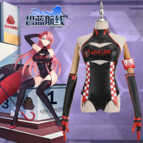 Cosplay women's wear suit Customized Over 14 years old Female s (delivery within 15 days) female m (delivery within 15 days) female L (delivery within 15 days) female XL (delivery within 15 days) female XXL (delivery within 15 days) Average size Dazzling Japan Blue line clothing