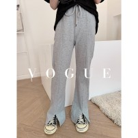 T-shirt Grey split pants, black split pants Other / other 110cm,120cm,130cm,140cm,150cm,160cm female summer elbow sleeve Crew neck commute There are models in the real shooting cotton other 7, 8, 14, 3, 6, 13, 11, 5, 4, 10, 9, 12 Chinese Mainland