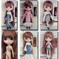 Doll / accessories parts 3 years old, 4 years old, 5 years old, 6 years old, 7 years old, 8 years old, 9 years old, 10 years old, 11 years old, 13 years old, 14 years old and above DIY China Small cloth Size Barbie size other sizes Over 14 years old one thousand and forty-five parts Life cloth