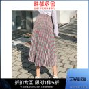 skirt Spring 2021 S,M,L green Mid length dress commute High waist Pleated skirt other 18-24 years old RE1990 More than 95% Hstyle / handu clothing house polyester fiber Korean version