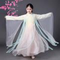 Children's performance clothes Light blue white red light yellow violet pink cyan Female 100cm 110cm 120cm 130cm 140cm 150cm 160cm 170cm Baihui Yijia