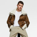 Jacket Other / other Fashion City Light brown, black S. M, l, XL, store quality, not market proof Plush and thicken easy Other leisure winter Long sleeves Wear out tide youth routine Zipper placket Straight hem Solid color Side seam pocket