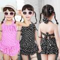 Children's swimsuit / pants Free Fox M [10-20 Jin], l [20-25 Jin], XL [25-35 Jin], 2XL [35-45 Jin], 3XL [45-55 Jin] Black, purple, white, Navy, red Children's one piece swimsuit children polyester fiber