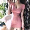 Dress Summer of 2018 Pink Average size