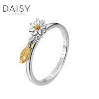 Ring / ring Silver ornaments 501-800 yuan DAISY WELLBEING SR535-SSR535_ MSR535-L brand new goods in stock Europe and America female Fresh out of the oven Not inlaid Plants and flowers SR535-A Silver and gold plating