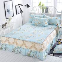 Bed skirt Bed skirt 1.2x2.0m, bed skirt 1.5x2.0m, bed skirt 1.8x2.0m, bed skirt 1.8x2.2m, bed skirt 2.0x2.2m polyester fiber Other / other Plants and flowers Qualified products s88888