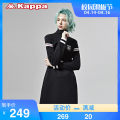Sports dress female Kappa / back to back S (adult) m (adult) l (adult) XL (adult) Spring 2020 Long sleeves Socket stand collar Brand logo design letter yes Sports & Leisure Sports life