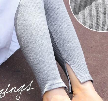 Leggings Autumn of 2018 Dark blue dark grey light grey white black Average size routine trousers 25-29 years old other