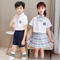 Children's performance clothes Men's -- Pink , Men's -- Xingye , Men's -- A gentle knife , Women's money -- Pink , Women's money -- Xingye , Women's money -- A gentle knife neutral 110cm,120cm,130cm,140cm,150cm,160cm,170cm Zhang Hao Class B jazz Other 100% college