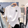 shirt White [printed yn], black [printed yn], white [printed BT], black [printed BT] S,M,L,XL,2XL,3XL Summer 2021 cotton 96% and above Short sleeve commute Regular Crew neck routine Korean version