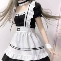 Cosplay women's wear suit goods in stock Over 14 years old black Animation, original, game S,M,L,XL,XXL,XXXL Tagkita / her Chinese Mainland Lovely wind Cos for maid Cos
