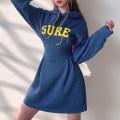 Dress Winter 2020 Blue, blue, black, gray S,M,L Short skirt singleton  Long sleeves commute High waist A-line skirt routine Type A AMMKD00555 51% (inclusive) - 70% (inclusive) cotton