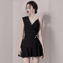 Fashion suit Summer 2020 S,M,L,XL black 18-25 years old