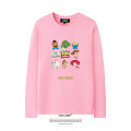 T-shirt Youth fashion White, black, pink, yellow, red routine 120, 130, 140, 150, XS, s, m, l, XL, 2XL, 3XL, 4XL LVAIREN Long sleeves Crew neck standard daily summer teenagers routine Youthful vigor Cotton wool 2019 character printing cotton Cartoon animation tto  Designer brand More than 95%