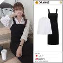 Fashion suit Autumn 2020 S,M,L,XL White shirt, black strap skirt 18-25 years old
