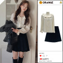 Fashion suit Spring 2021 S,M,L,XL Shirt, black skirt, coffee skirt 18-25 years old 31% (inclusive) - 50% (inclusive)