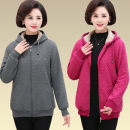 Sweater / sweater Winter 2020 L,XL,2XL,3XL,4XL Long sleeves routine Cardigan singleton  Plush Hood easy commute Solid color 40-49 years old 51% (inclusive) - 70% (inclusive) zipper
