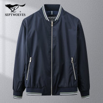 Jacket Septwolves Fashion City 101 (Tibetan) 209 (light green) 701 (Khaki) 165/84A/M 170/88A/L 175/92A/XL 180/96A/XXL 185/100A/XXXL 190/104A/XXXXL routine standard go to work spring 1D1A10101105 Polyester 100% Long sleeves Wear out Baseball collar Business Casual youth routine Zipper placket Rib hem