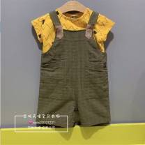 suit Other / other Rare and pure, a small amount in stock Size 90 (about 75 recommended height), size 100 (about 85 recommended height), Size 110 (about 95 recommended height), Size 120 (about 105 recommended height) neutral spring and autumn Short sleeve + pants 2 pieces No model Other 100%