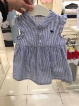 Dress Foreign style small fresh lining dress female Other / other Other 100% other A-line skirt 12 months, 6 months, 9 months, 18 months, 2 years old, 3 years old, 4 years old, 5 years old, 6 years old