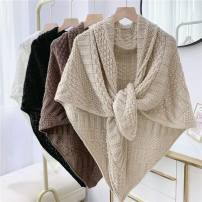 Scarf / silk scarf / Shawl polyester Spring and autumn, summer, winter female Shawl multi-function Korean version Students, youth, youth, middle age Solid color Other / other S78488
