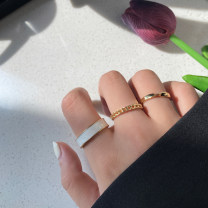 Ring / ring other RMB 1.00-9.99 Other / other brand new goods in stock Japan and South Korea female Fresh out of the oven Not inlaid other