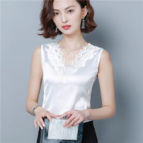 Vest sling Summer 2020 White black champagne S M L XL 2XL 3XL singleton  have cash less than that is registered in the accounts Self cultivation straps Solid color 30-34 years old 96% and above polyester fiber HDS799077 Han daisa Polyester 100% Pure e-commerce (online only)